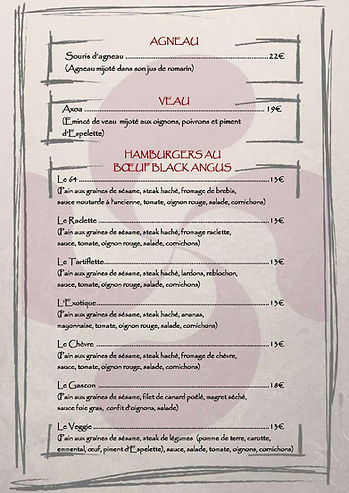 restaurant st pierre restaurant avec terrasse Restaurants antan restaurants carte menu