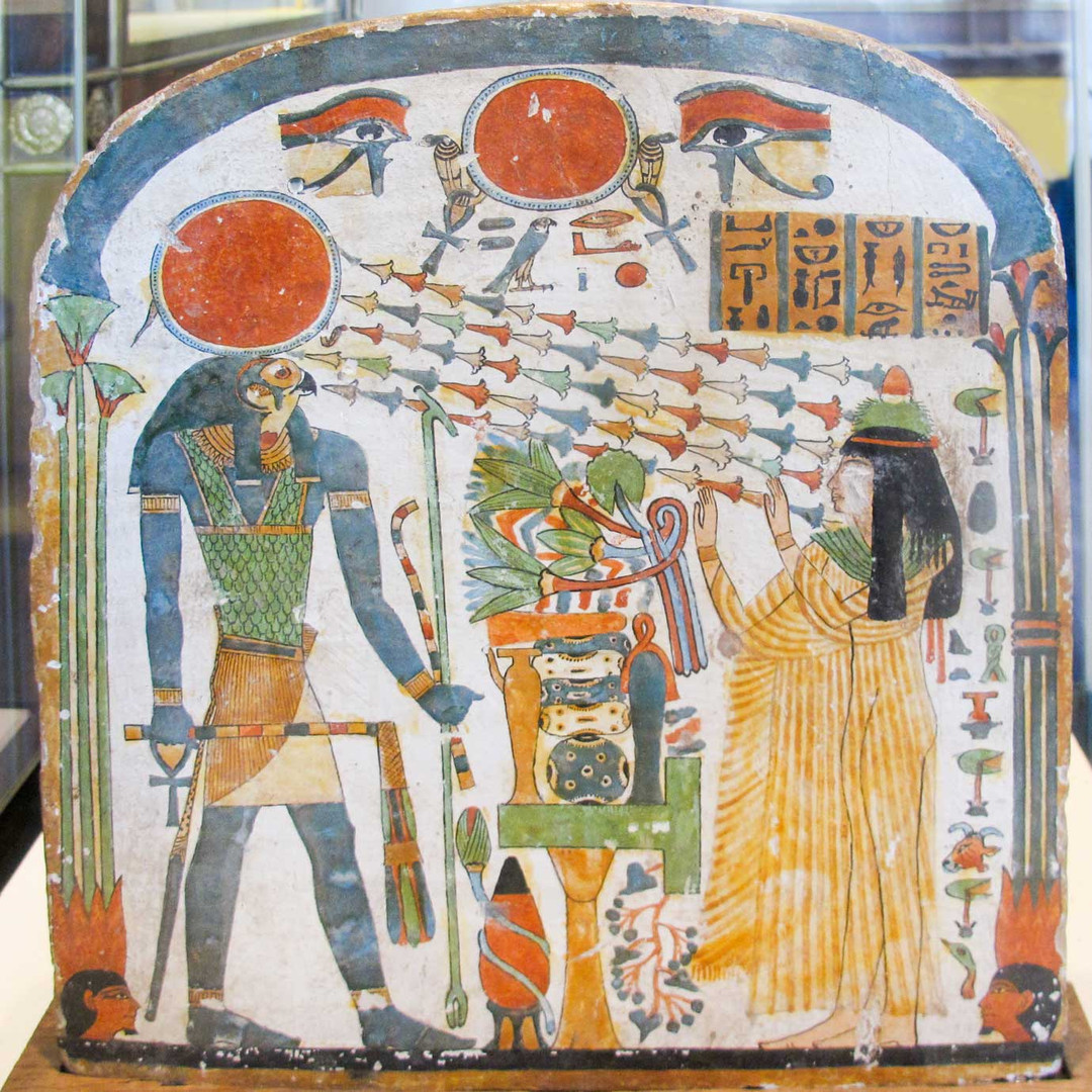 Tapete funeral egipcio.