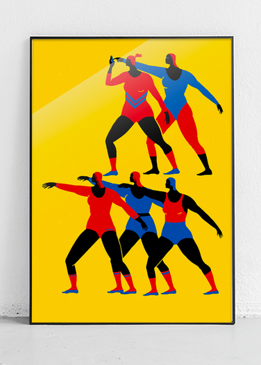POSTER ATHLETICS 2.