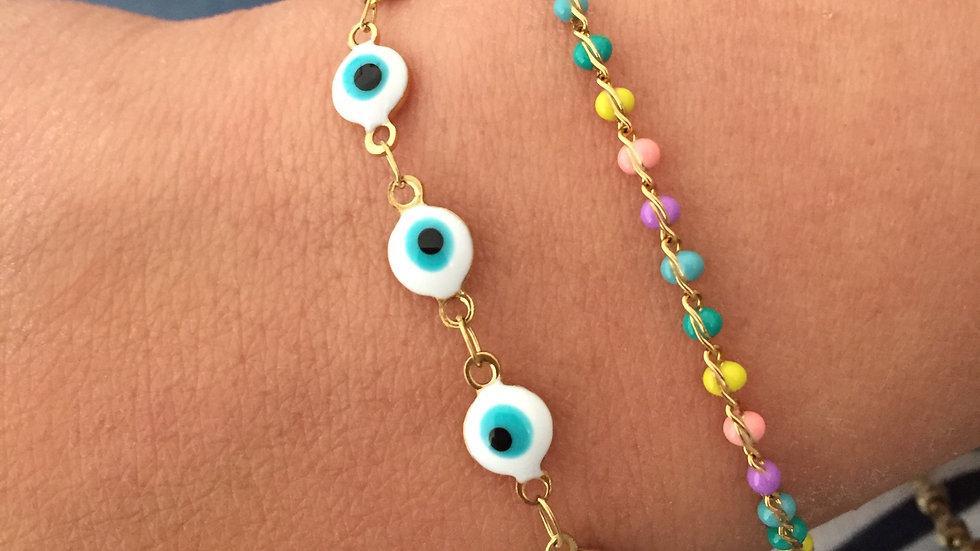 Bracelet Full Eyes