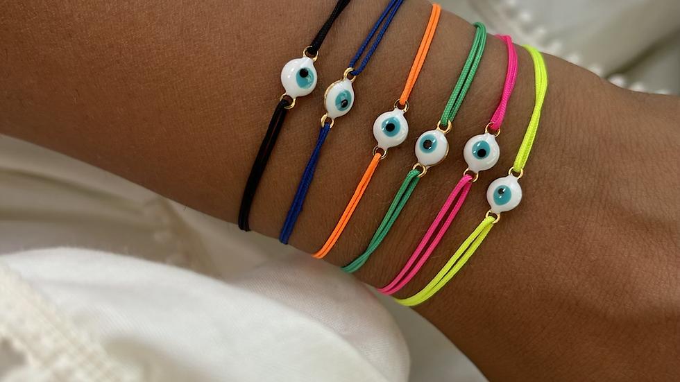 Bracelet fil eye
