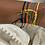 Thumbnail: Bracelet fil cowri