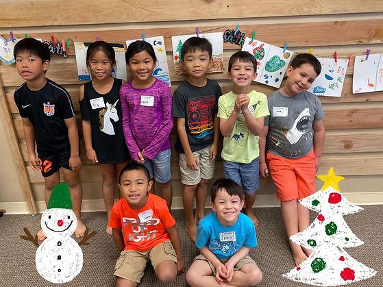 Wellspring Children group photo