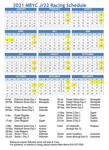 MBYC 2021 J-22 Racing Schedule.png