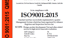 Circuit Plus Inc. an ISO 9001:2015 Registered Company
