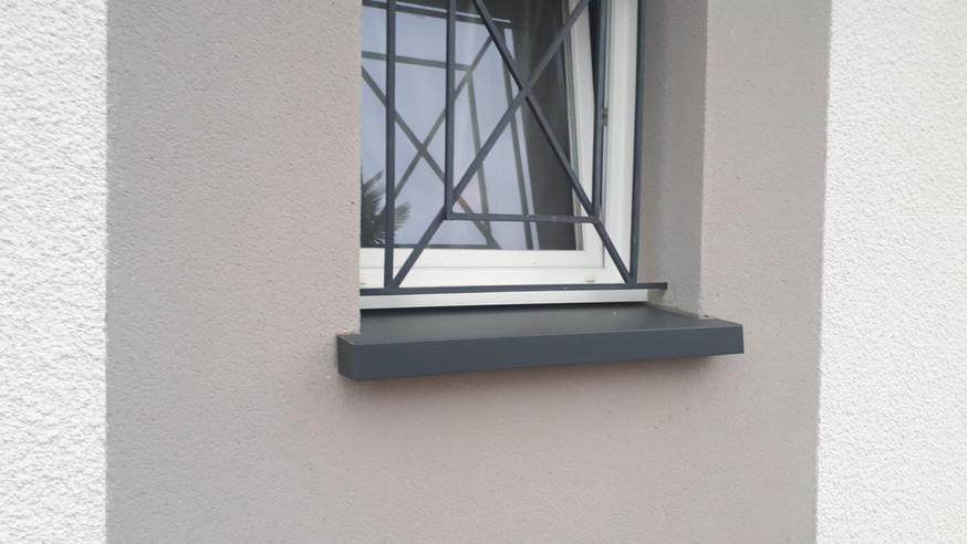 Appui de fenêtre aluminium