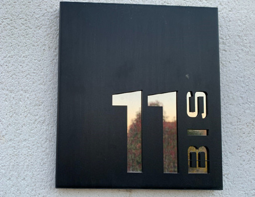 Numéro de rue sur-mesure