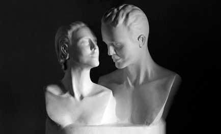 Obras escultóricas de José Recabarren A.