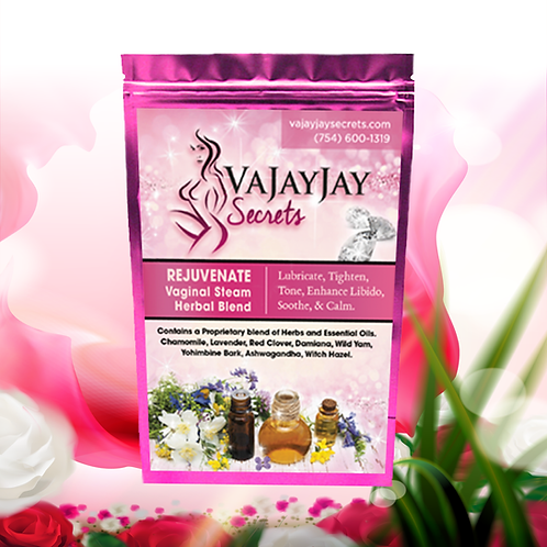 Rejuvenate Vaginal Steam Herbal Blend (NEW Patchouli Scent)