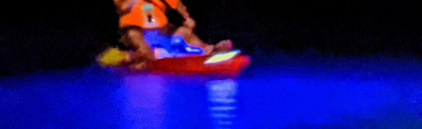 Rum Island. iLLumination Paddle