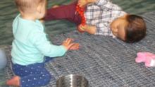 Observation of infant aged nine months