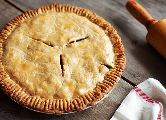French Canadian Tourtiere Pie