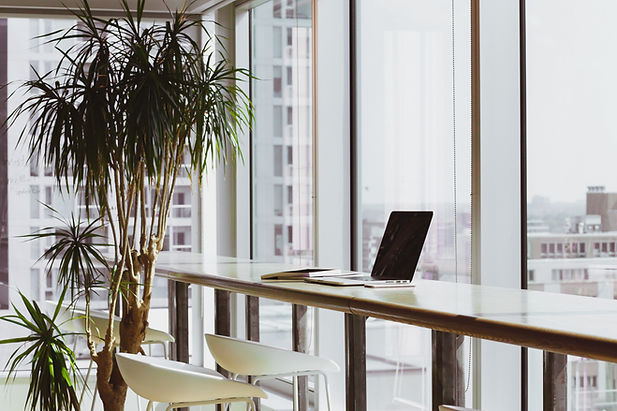 Espacio de oficinas limpio