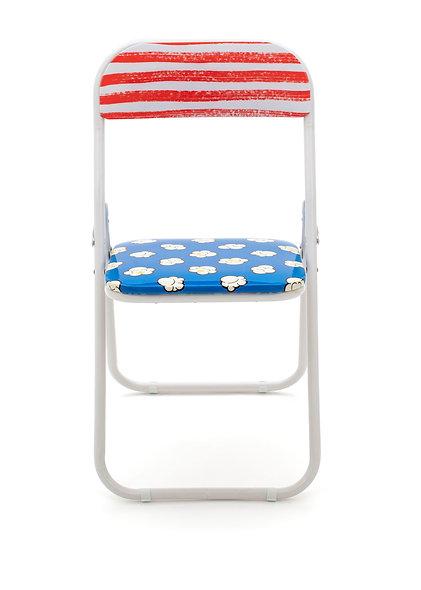 Metal Folding Chair ''Studio Job-Blow'' Pop Corn