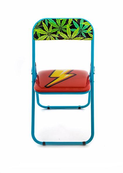 Metal Folding Chair ''Studio Job-Blow'' Flash New