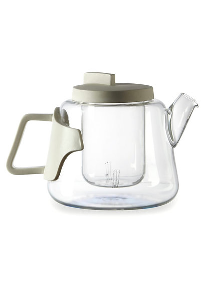 Glass and Porcelain Teapot ''Era''