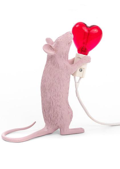 Resin Lamp ''Mouse Lamp - Step''