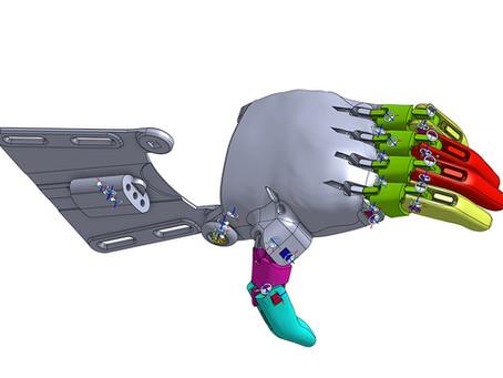 Phoenix Prosthetic Hand in OnShape