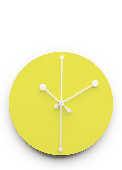 Wall Clock - Yellow - Dotty Clock