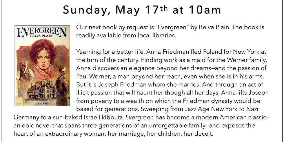 SOZ Book Club Meeting: Evergreen