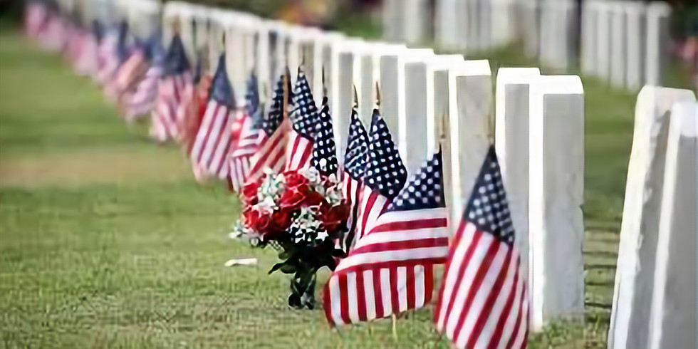 Preparation for Memorial Day at the SOZ Cemetery