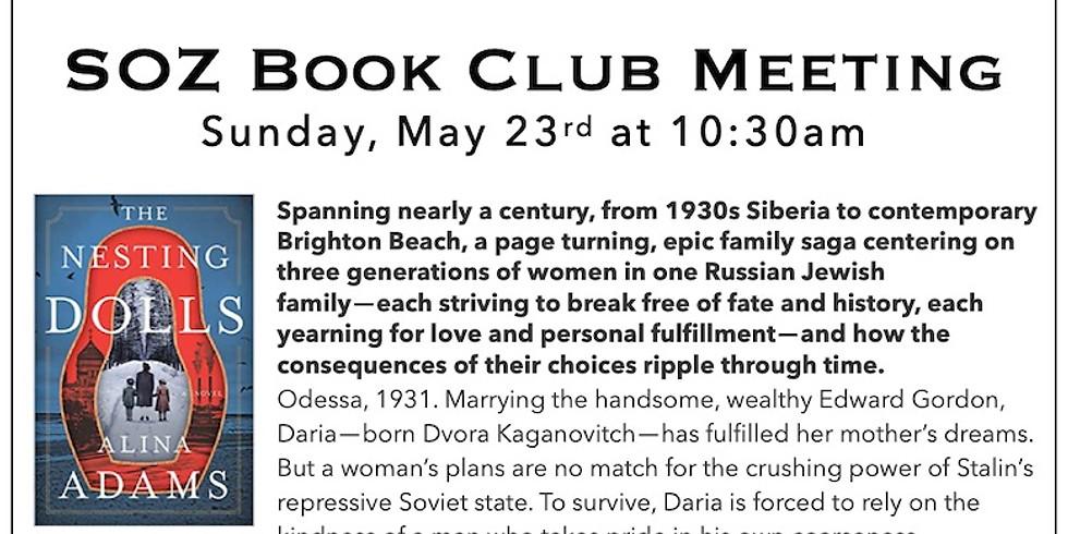 SOZ Book Club - The Nesting Dolls