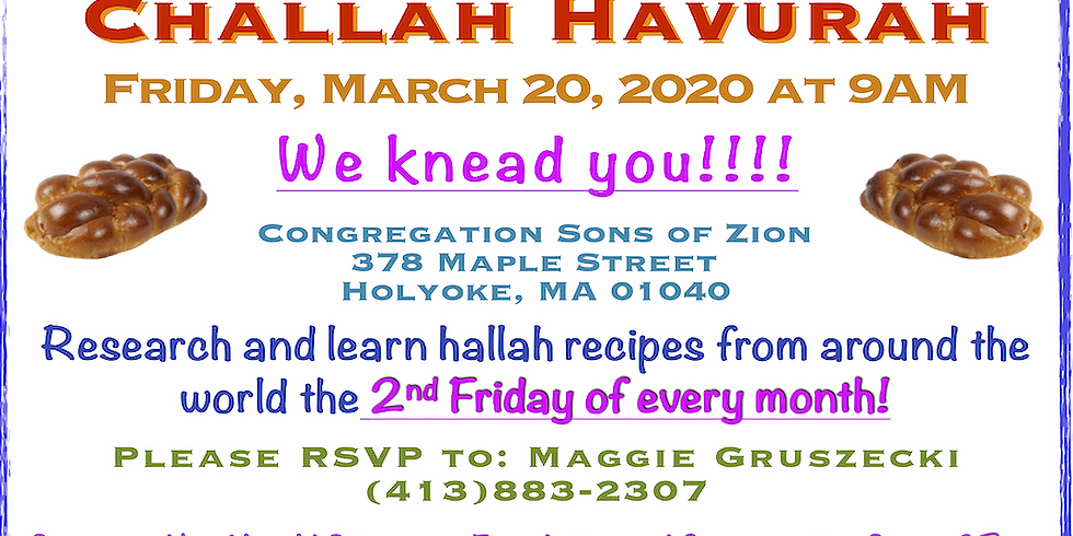 March Challah Havurah
