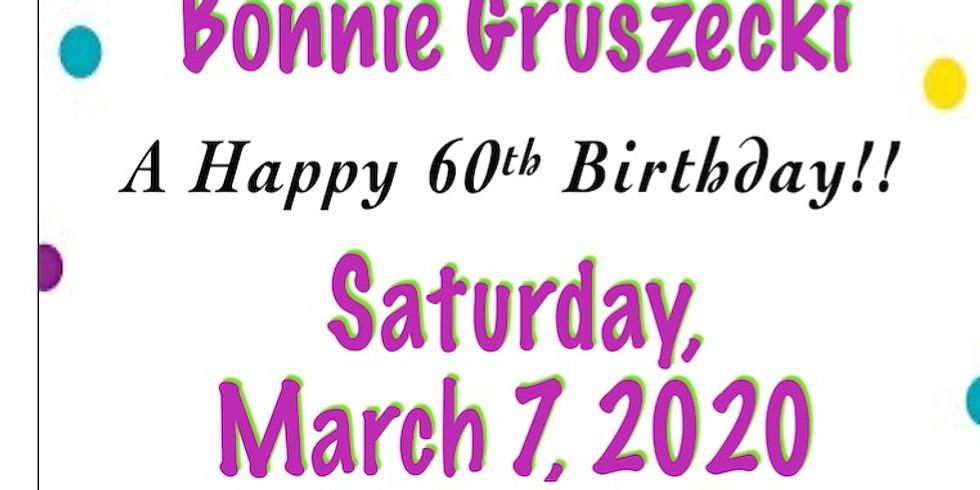 Bonnie Gruszecki's 60th Birthday Kiddush
