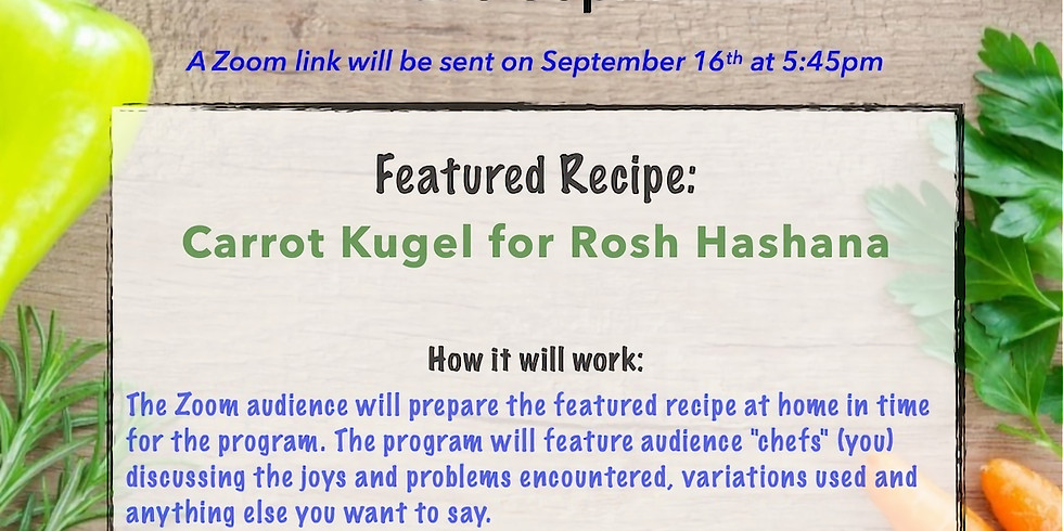 What's Cooking @ SOZ???: Carrot Kugel