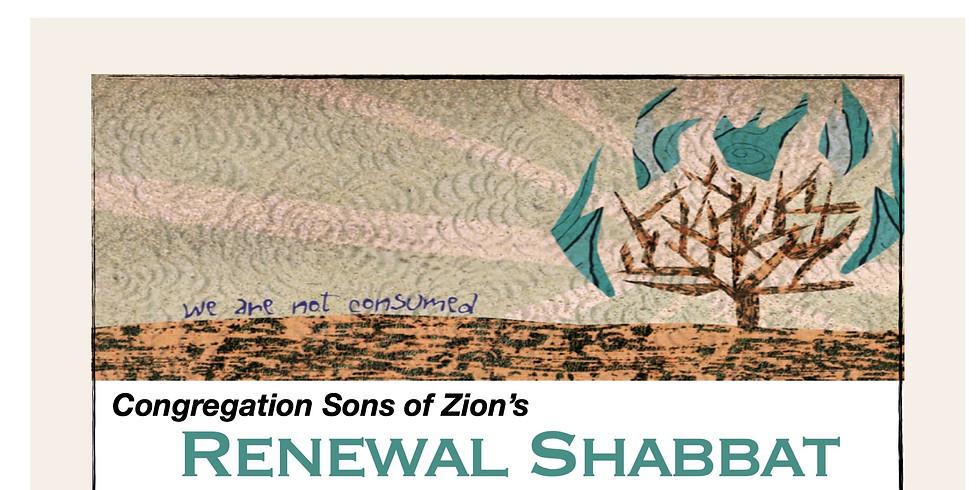 Shemot Renewal Shabbat
