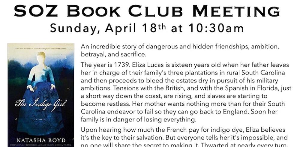 SOZ Book Club - The Indigo Girl