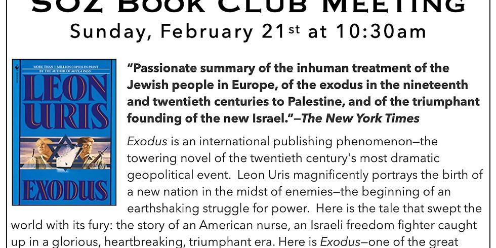 SOZ Book Club - Exodus
