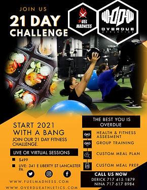 Copy of Modern Orange Online Fitness Pro