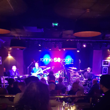 LIVE AT RONNIE SCOTT'S LONDON, ENGLAND