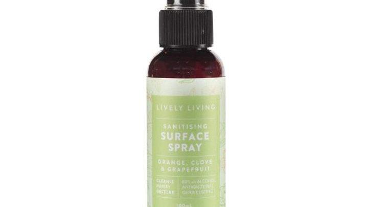 Sanitising Surface Spray