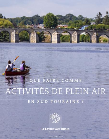 Activités plein air en Sud Touraine