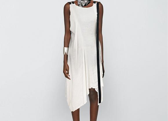 Subtracted webbing dress