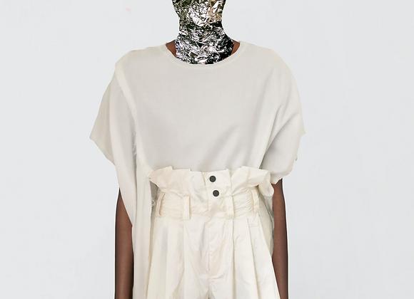 Slits oversized blouse