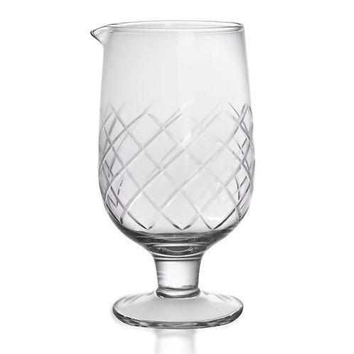 Diamond Pattern Mixing Glass
