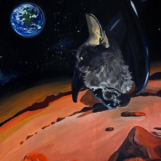 Dragon Alien Cat