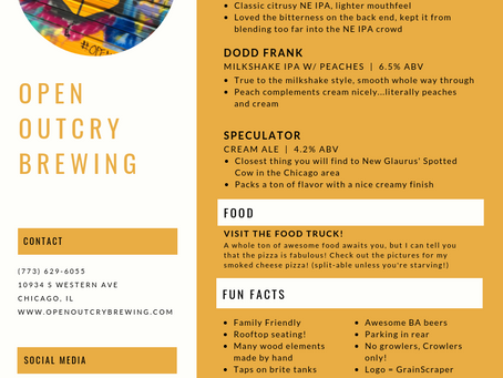 Open Outcry Brewing