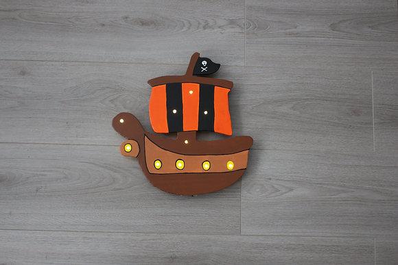Schlummerlicht Piratenschiff