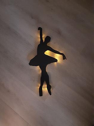 Schattenbild Ballerina