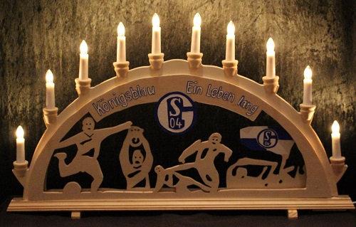 Schwibbogen Schalke 04