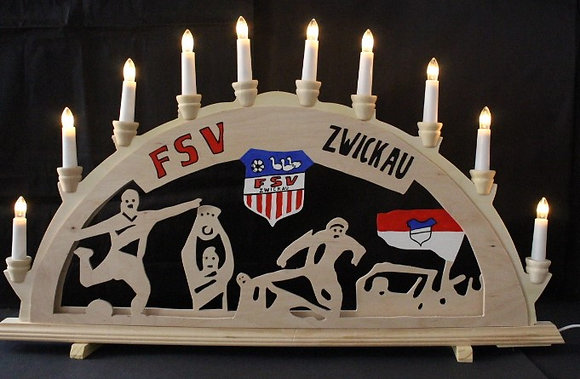Schwibbogen FSV Zwickau