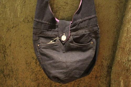 Jeanstasche zum Binden