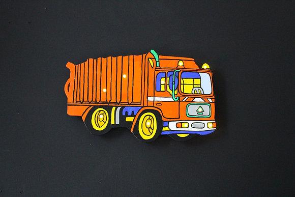 Schlummerlicht Müllauto