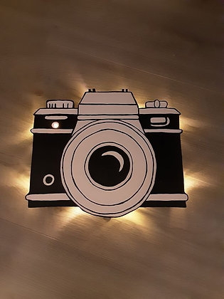 Schattenbild Kamera
