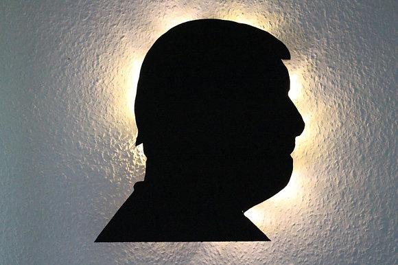 Schattenbild Porträt
