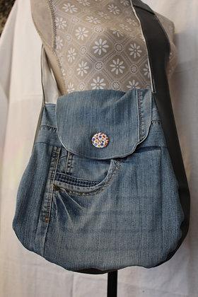 Jeans-Umhängetasche